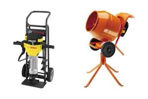 Concrete tool rentals in Kamloops