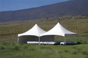 Tent rentals in Kamloops