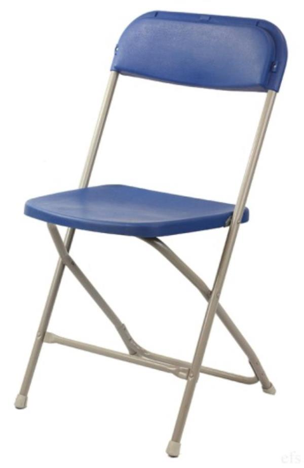 Where to find CHAIR,  BLUE - FOLDING in Kamloops