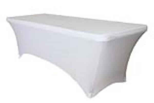 Where to find SPANDEX 8  BANQUET TABLECOVER in Kamloops