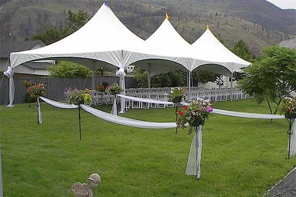 Wedding rentals in Kamloops BC